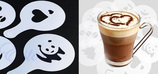 latte art schablonen