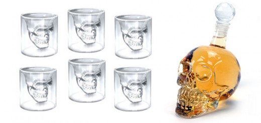 skull totenkopf glasset flasche