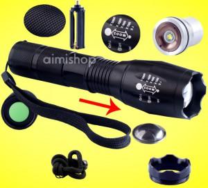 Cree LED taschenlampe lumen hell günstig