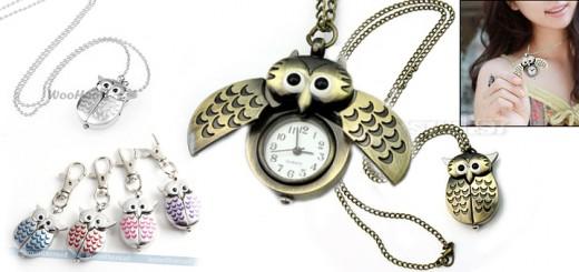 eulen uhr armbanduhr