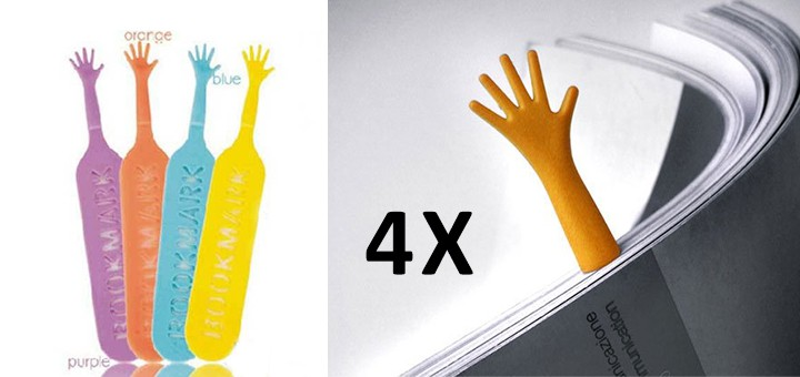 lustige Lesezeichen lesen hand