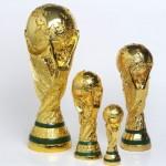 realistischer Weltmeister Pokal WM Fussball kaufen bestellen