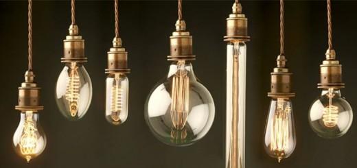 retro glühbirnen vintage lampe