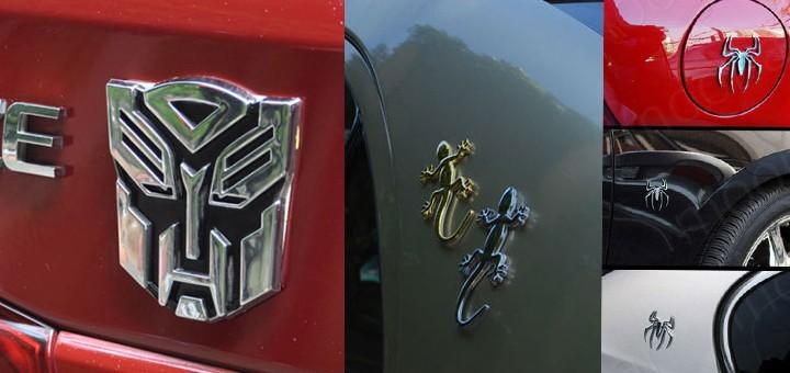 3D Logo 3D Emblem Auto Transformer Spiderman