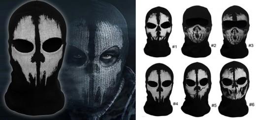 call of duty maske skimaske cosplay ghostmask sturmhaube