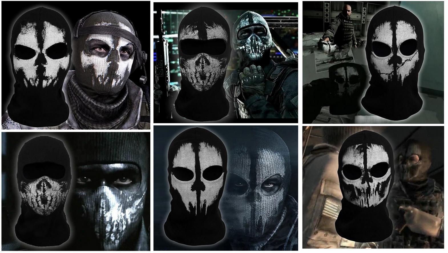 Ghosts Call of Duty - Cosplay Maske / Halstuch - Gadgets ...