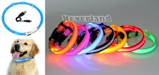 led hundehalsband leuchtend halsband hunde hund nylon
