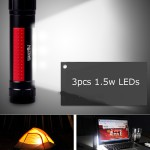 Warsun LED Camping Lampe Taschenlampe Zeltlampe Campingleuchte Campinglaterne BO