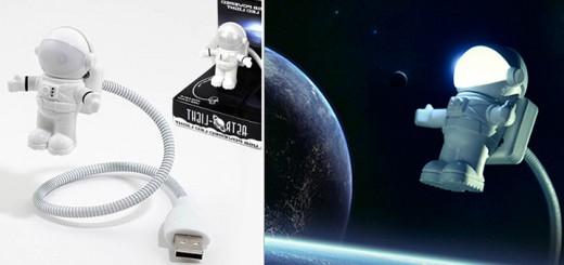 astronaut usb licht leselicht laptoplampe notebooklampe
