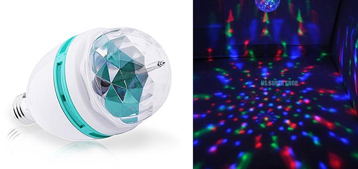 e27 partybeleuchtung led diskolicht glühbirne party licht