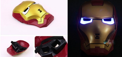 iron man maske ironman verkleidung