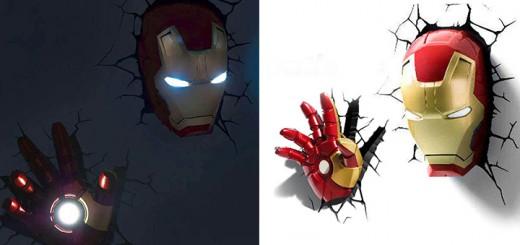 ironman iron man deco light Deko nachtlicht led