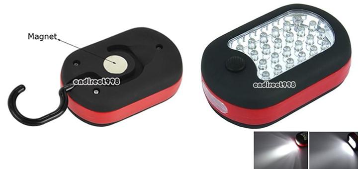 led magnetleuchte arbeitsleuchte haken arbeitslampe camping magnet
