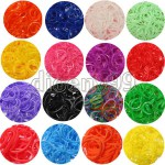 loom rainbow gummibänder glow leuchtend