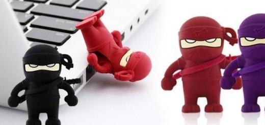 ninja usb stick lustiger usbstick