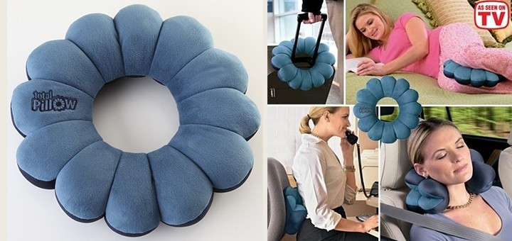 total pillow reisekissen twistpillow totalpillow ergonomisches nackenkissen