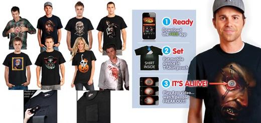 digital dudz app t-shirt halloween horror android iphone
