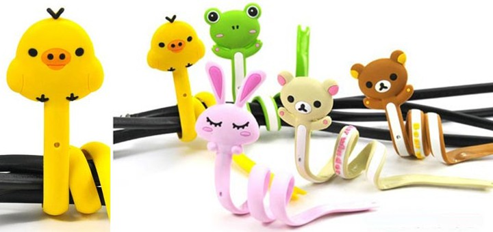 lustige Kabelbinder tiere