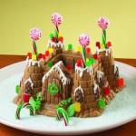 ritter burg kuchen rezept kindergeburtstag cake