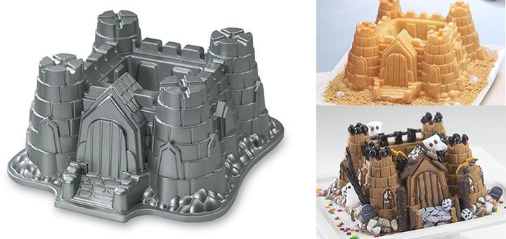Burg Kuchenform Kuchen Als Ritterburg Zum Sandburg Bauen
