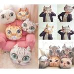 cat pillow katzen kissen