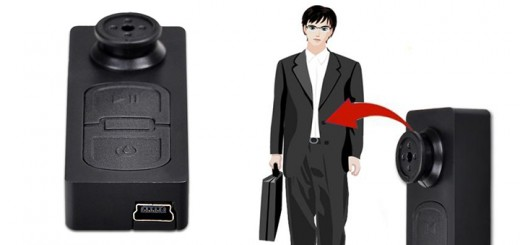 verstekte kamera spycam knopf hemd