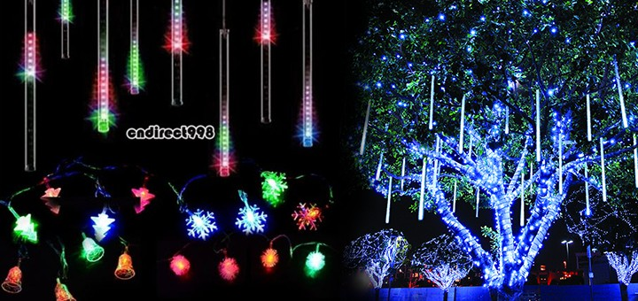 weihnachtsbeleuchtung christmas led snow motion snowfall led