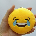 whats app smiley kissen schlüsselanhänger geschenk