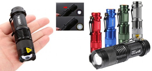 UltraFire 1000LM CREE XPE-Q5 LED taschenlampe