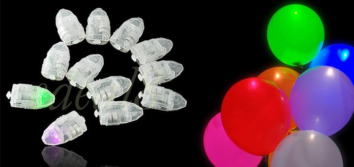 beleuchtete led luftballons gadgets. Black Bedroom Furniture Sets. Home Design Ideas