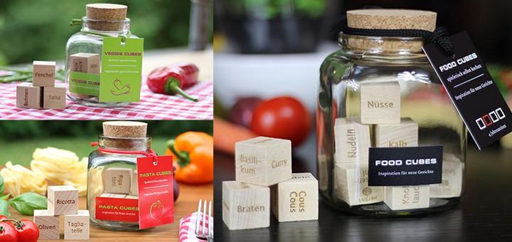 food cubes neue rezepte würfeln pasta cubes