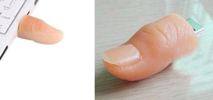 finger usb stick