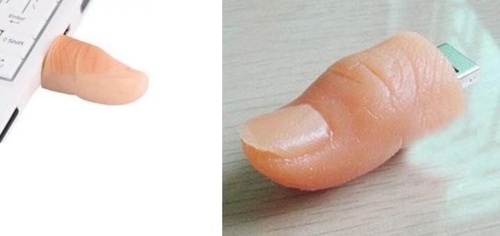 finger usb stick