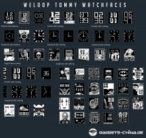 weloop tommy watchfaces smartwatch