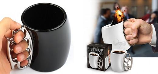fisticup schlagringtasse fistcup