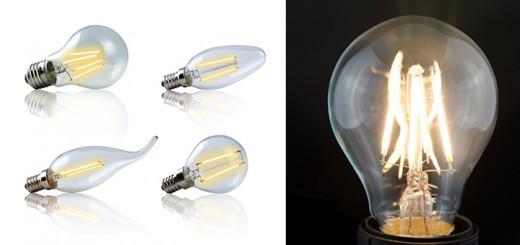 Filament LED Vintage Leuchtmittel Glühbirne