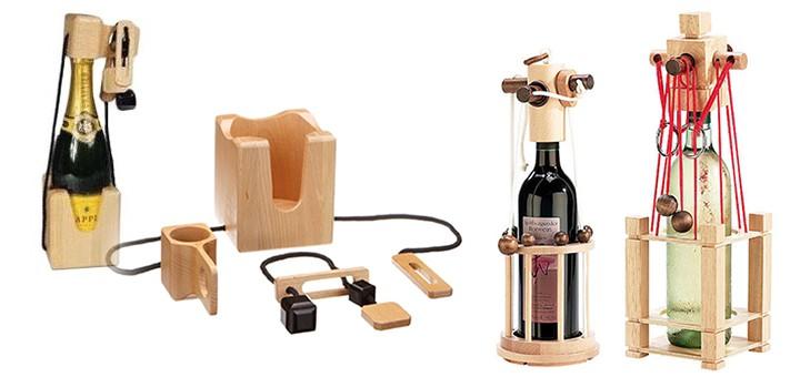 Flaschen-Tresor - Flaschen-Safe - Flaschen-Puzzle - Denkspiel