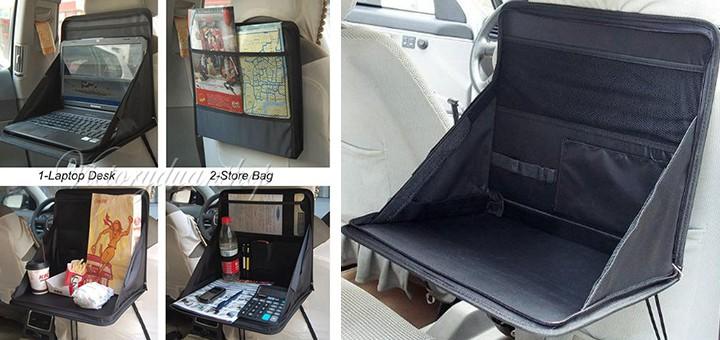r cksitztasche f rs auto oder den zug gadgets. Black Bedroom Furniture Sets. Home Design Ideas