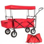 klappbarer bollerwagen handwagen mit sach sonnendach