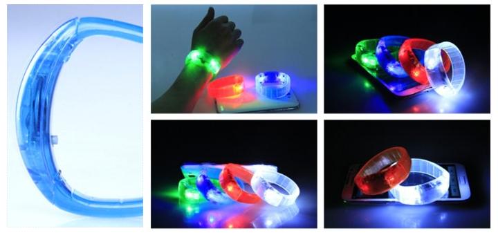 led armband soundgesteuert sound licht