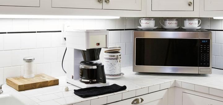 mikrowelle mit hei luft und grill gadgets. Black Bedroom Furniture Sets. Home Design Ideas